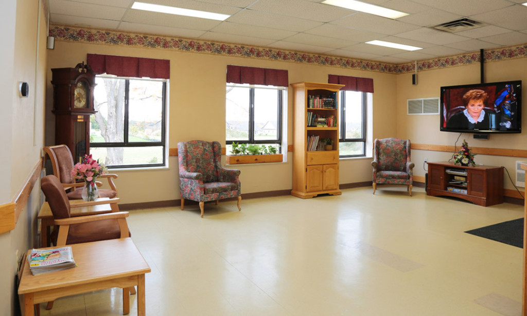 Saugeen Valley resident lounge area