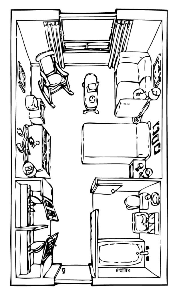 Tyndall Room Plan RH - Room