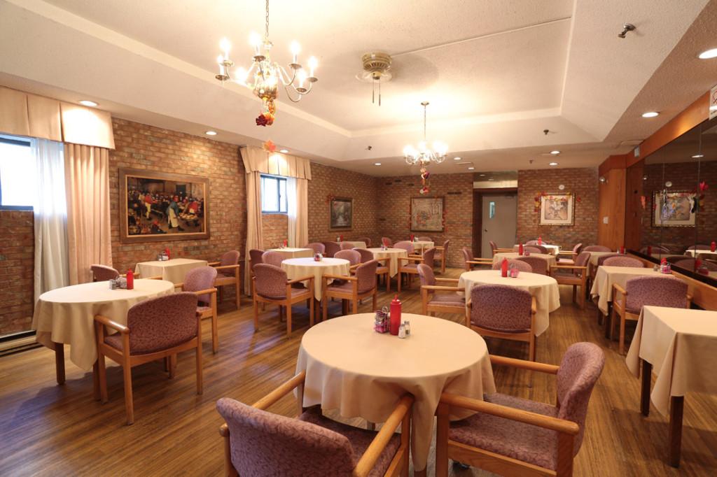Tyndall Seniors Village Retirement Dining Room 2