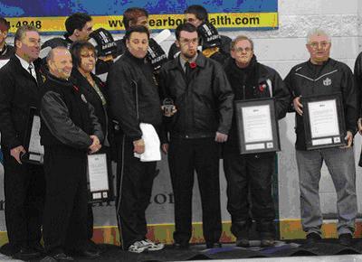 OHA Honours team